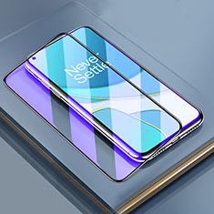 Schutzfolie Full Coverage Displayschutzfolie Panzerfolie Gehärtetes Glas Glasfolie Anti Blue Ray Skins zum Aufkleben Panzerglas für OnePlus 8T 5G Schwarz