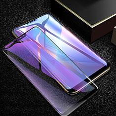 Schutzfolie Full Coverage Displayschutzfolie Panzerfolie Gehärtetes Glas Glasfolie Anti Blue Ray Skins zum Aufkleben Panzerglas für Oppo A12e Schwarz