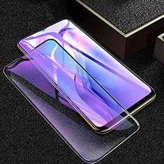 Schutzfolie Full Coverage Displayschutzfolie Panzerfolie Gehärtetes Glas Glasfolie Anti Blue Ray Skins zum Aufkleben Panzerglas für Oppo A8 Schwarz