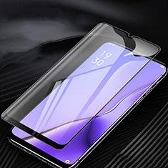Schutzfolie Full Coverage Displayschutzfolie Panzerfolie Gehärtetes Glas Glasfolie Anti Blue Ray Skins zum Aufkleben Panzerglas für Oppo A9 (2020) Schwarz