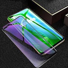 Schutzfolie Full Coverage Displayschutzfolie Panzerfolie Gehärtetes Glas Glasfolie Anti Blue Ray Skins zum Aufkleben Panzerglas für Realme X50 Pro 5G Schwarz
