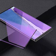 Schutzfolie Full Coverage Displayschutzfolie Panzerfolie Gehärtetes Glas Glasfolie Anti Blue Ray Skins zum Aufkleben Panzerglas für Samsung Galaxy Note 20 Ultra 5G Schwarz
