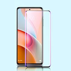 Schutzfolie Full Coverage Displayschutzfolie Panzerfolie Gehärtetes Glas Glasfolie Anti Blue Ray Skins zum Aufkleben Panzerglas für Xiaomi Mi 10T Lite 5G Schwarz
