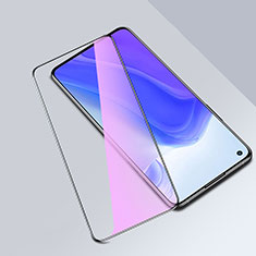 Schutzfolie Full Coverage Displayschutzfolie Panzerfolie Gehärtetes Glas Glasfolie Anti Blue Ray Skins zum Aufkleben Panzerglas für Xiaomi Mi 10T Pro 5G Schwarz