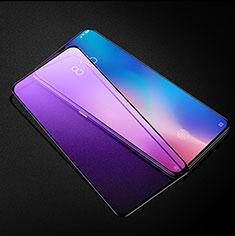 Schutzfolie Full Coverage Displayschutzfolie Panzerfolie Gehärtetes Glas Glasfolie Anti Blue Ray Skins zum Aufkleben Panzerglas für Xiaomi Mi 9 Pro 5G Schwarz