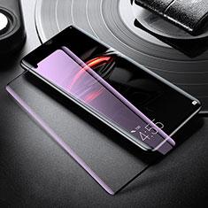Schutzfolie Full Coverage Displayschutzfolie Panzerfolie Gehärtetes Glas Glasfolie Anti Blue Ray Skins zum Aufkleben Panzerglas für Xiaomi Mi Note 10 Pro Weiß