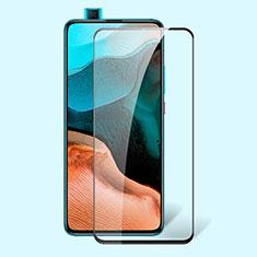 Schutzfolie Full Coverage Displayschutzfolie Panzerfolie Gehärtetes Glas Glasfolie Anti Blue Ray Skins zum Aufkleben Panzerglas für Xiaomi Poco F2 Pro Schwarz