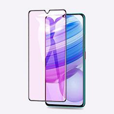 Schutzfolie Full Coverage Displayschutzfolie Panzerfolie Gehärtetes Glas Glasfolie Anti Blue Ray Skins zum Aufkleben Panzerglas für Xiaomi Redmi 10X Pro 5G Schwarz