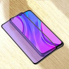 Schutzfolie Full Coverage Displayschutzfolie Panzerfolie Gehärtetes Glas Glasfolie Anti Blue Ray Skins zum Aufkleben Panzerglas für Xiaomi Redmi 9A Schwarz