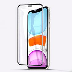 Schutzfolie Full Coverage Displayschutzfolie Panzerfolie Gehärtetes Glas Glasfolie Skins zum Aufkleben Panzerglas F02 für Apple iPhone 11 Schwarz