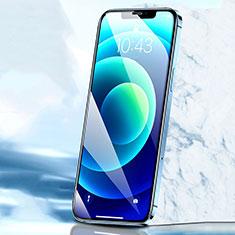 Schutzfolie Full Coverage Displayschutzfolie Panzerfolie Gehärtetes Glas Glasfolie Skins zum Aufkleben Panzerglas F02 für Apple iPhone 12 Schwarz