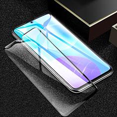 Schutzfolie Full Coverage Displayschutzfolie Panzerfolie Gehärtetes Glas Glasfolie Skins zum Aufkleben Panzerglas F02 für Huawei Honor 30 Lite 5G Schwarz