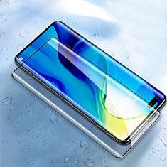 Schutzfolie Full Coverage Displayschutzfolie Panzerfolie Gehärtetes Glas Glasfolie Skins zum Aufkleben Panzerglas F02 für Huawei Honor 30 Pro Schwarz