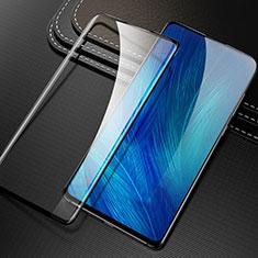 Schutzfolie Full Coverage Displayschutzfolie Panzerfolie Gehärtetes Glas Glasfolie Skins zum Aufkleben Panzerglas F02 für Huawei Honor 9X Pro Schwarz