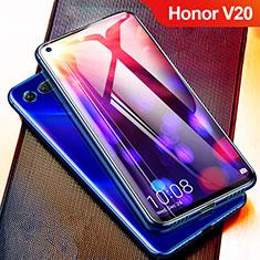 Schutzfolie Full Coverage Displayschutzfolie Panzerfolie Gehärtetes Glas Glasfolie Skins zum Aufkleben Panzerglas F02 für Huawei Honor View 20 Schwarz