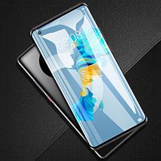 Schutzfolie Full Coverage Displayschutzfolie Panzerfolie Gehärtetes Glas Glasfolie Skins zum Aufkleben Panzerglas F02 für Huawei Mate 40 Schwarz