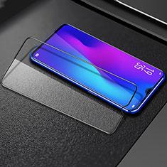 Schutzfolie Full Coverage Displayschutzfolie Panzerfolie Gehärtetes Glas Glasfolie Skins zum Aufkleben Panzerglas F02 für Samsung Galaxy A70 Schwarz