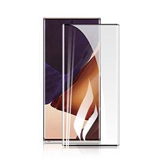 Schutzfolie Full Coverage Displayschutzfolie Panzerfolie Gehärtetes Glas Glasfolie Skins zum Aufkleben Panzerglas F02 für Samsung Galaxy Note 20 5G Schwarz