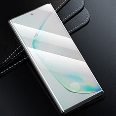 Schutzfolie Full Coverage Displayschutzfolie Panzerfolie Gehärtetes Glas Glasfolie Skins zum Aufkleben Panzerglas F02 für Samsung Galaxy S20 5G Schwarz