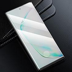 Schutzfolie Full Coverage Displayschutzfolie Panzerfolie Gehärtetes Glas Glasfolie Skins zum Aufkleben Panzerglas F02 für Samsung Galaxy S20 Plus 5G Schwarz