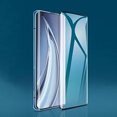 Schutzfolie Full Coverage Displayschutzfolie Panzerfolie Gehärtetes Glas Glasfolie Skins zum Aufkleben Panzerglas F02 für Xiaomi Mi 10 Pro Schwarz