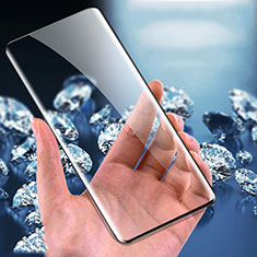 Schutzfolie Full Coverage Displayschutzfolie Panzerfolie Gehärtetes Glas Glasfolie Skins zum Aufkleben Panzerglas F02 für Xiaomi Mi 10 Ultra Schwarz