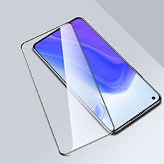 Schutzfolie Full Coverage Displayschutzfolie Panzerfolie Gehärtetes Glas Glasfolie Skins zum Aufkleben Panzerglas F02 für Xiaomi Mi 10T 5G Schwarz