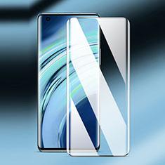 Schutzfolie Full Coverage Displayschutzfolie Panzerfolie Gehärtetes Glas Glasfolie Skins zum Aufkleben Panzerglas F02 für Xiaomi Mi 11 5G Schwarz