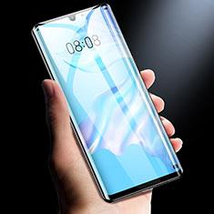 Schutzfolie Full Coverage Displayschutzfolie Panzerfolie Gehärtetes Glas Glasfolie Skins zum Aufkleben Panzerglas F02 für Xiaomi Mi Note 10 Pro Schwarz