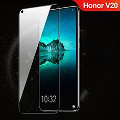 Schutzfolie Full Coverage Displayschutzfolie Panzerfolie Gehärtetes Glas Glasfolie Skins zum Aufkleben Panzerglas F03 für Huawei Honor View 20 Schwarz