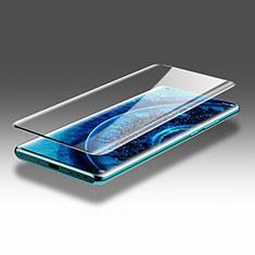 Schutzfolie Full Coverage Displayschutzfolie Panzerfolie Gehärtetes Glas Glasfolie Skins zum Aufkleben Panzerglas F03 für Oppo Find X2 Pro Schwarz
