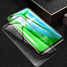 Schutzfolie Full Coverage Displayschutzfolie Panzerfolie Gehärtetes Glas Glasfolie Skins zum Aufkleben Panzerglas F03 für Realme X50 Pro 5G Schwarz