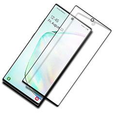 Schutzfolie Full Coverage Displayschutzfolie Panzerfolie Gehärtetes Glas Glasfolie Skins zum Aufkleben Panzerglas F03 für Samsung Galaxy S20 5G Schwarz