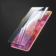 Schutzfolie Full Coverage Displayschutzfolie Panzerfolie Gehärtetes Glas Glasfolie Skins zum Aufkleben Panzerglas F03 für Samsung Galaxy S20 FE 5G Schwarz