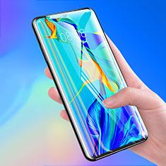 Schutzfolie Full Coverage Displayschutzfolie Panzerfolie Gehärtetes Glas Glasfolie Skins zum Aufkleben Panzerglas F03 für Xiaomi Mi Note 10 Schwarz