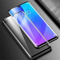 Schutzfolie Full Coverage Displayschutzfolie Panzerfolie Gehärtetes Glas Glasfolie Skins zum Aufkleben Panzerglas F03 für Xiaomi Redmi Note 8 Pro Schwarz