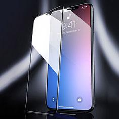Schutzfolie Full Coverage Displayschutzfolie Panzerfolie Gehärtetes Glas Glasfolie Skins zum Aufkleben Panzerglas F04 für Apple iPhone 11 Pro Max Schwarz