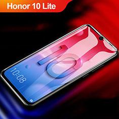 Schutzfolie Full Coverage Displayschutzfolie Panzerfolie Gehärtetes Glas Glasfolie Skins zum Aufkleben Panzerglas F04 für Huawei Honor 10 Lite Schwarz