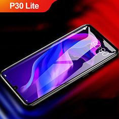 Schutzfolie Full Coverage Displayschutzfolie Panzerfolie Gehärtetes Glas Glasfolie Skins zum Aufkleben Panzerglas F04 für Huawei P30 Lite New Edition Schwarz
