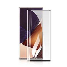 Schutzfolie Full Coverage Displayschutzfolie Panzerfolie Gehärtetes Glas Glasfolie Skins zum Aufkleben Panzerglas F04 für Samsung Galaxy Note 20 Ultra 5G Schwarz