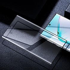 Schutzfolie Full Coverage Displayschutzfolie Panzerfolie Gehärtetes Glas Glasfolie Skins zum Aufkleben Panzerglas F04 für Samsung Galaxy S20 Plus 5G Schwarz