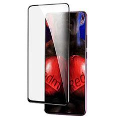 Schutzfolie Full Coverage Displayschutzfolie Panzerfolie Gehärtetes Glas Glasfolie Skins zum Aufkleben Panzerglas F04 für Xiaomi Redmi K20 Pro Schwarz