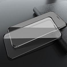Schutzfolie Full Coverage Displayschutzfolie Panzerfolie Gehärtetes Glas Glasfolie Skins zum Aufkleben Panzerglas F05 für Apple iPhone 11 Schwarz