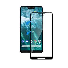 Schutzfolie Full Coverage Displayschutzfolie Panzerfolie Gehärtetes Glas Glasfolie Skins zum Aufkleben Panzerglas F05 für Google Pixel 3 XL Schwarz