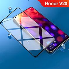Schutzfolie Full Coverage Displayschutzfolie Panzerfolie Gehärtetes Glas Glasfolie Skins zum Aufkleben Panzerglas F05 für Huawei Honor View 20 Schwarz