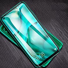 Schutzfolie Full Coverage Displayschutzfolie Panzerfolie Gehärtetes Glas Glasfolie Skins zum Aufkleben Panzerglas F05 für Huawei P40 Lite Schwarz