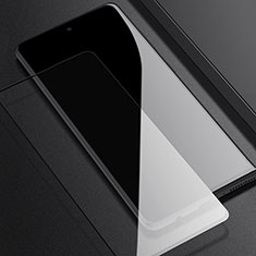 Schutzfolie Full Coverage Displayschutzfolie Panzerfolie Gehärtetes Glas Glasfolie Skins zum Aufkleben Panzerglas F05 für Samsung Galaxy A51 5G Schwarz