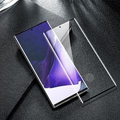 Schutzfolie Full Coverage Displayschutzfolie Panzerfolie Gehärtetes Glas Glasfolie Skins zum Aufkleben Panzerglas F05 für Samsung Galaxy Note 20 Ultra 5G Schwarz