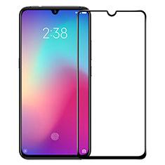 Schutzfolie Full Coverage Displayschutzfolie Panzerfolie Gehärtetes Glas Glasfolie Skins zum Aufkleben Panzerglas F05 für Xiaomi Mi 9 Lite Schwarz