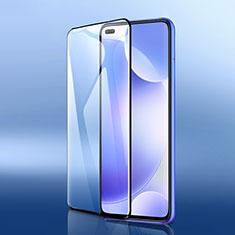 Schutzfolie Full Coverage Displayschutzfolie Panzerfolie Gehärtetes Glas Glasfolie Skins zum Aufkleben Panzerglas F05 für Xiaomi Poco X2 Schwarz